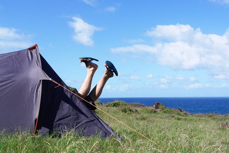 J'adore faire du camping