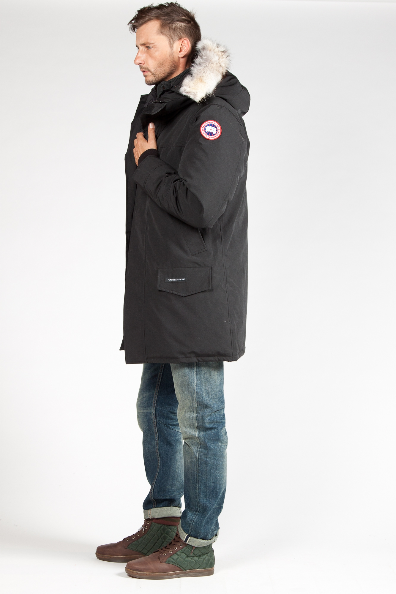 parka fourrure homme canada goose canada goose toronto replica authentic. Black Bedroom Furniture Sets. Home Design Ideas